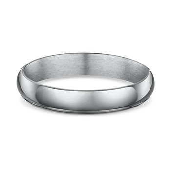 4mm Half Round Wedding Band