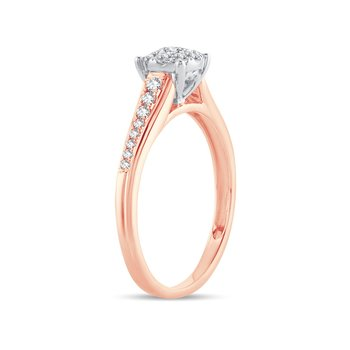 14K 0.37Ct Diamond Ring