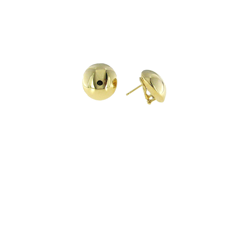Roberto Coin 18Kt Gold Round Earrings