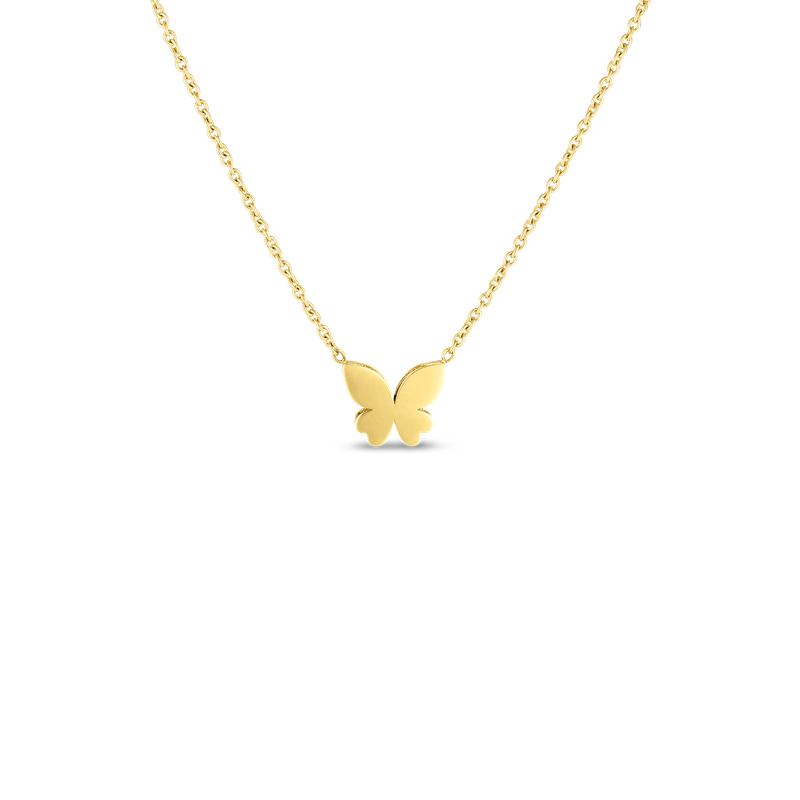 Roberto Coin 18Kt Gold Mariposa Necklace