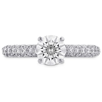 0.55 ctw. Euphoria HOF Engagement Ring - Diamond Band
