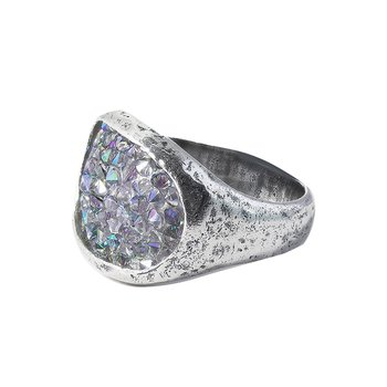 Kristal Stellarium Cocktail Ring - Size 11