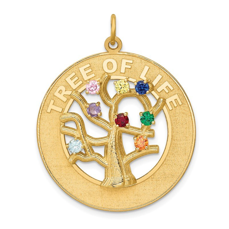 Quality Gold 14k TREE OF LIFE Pendant