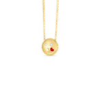 Roberto Coin Kiss Emoji Pendant With Diamonds