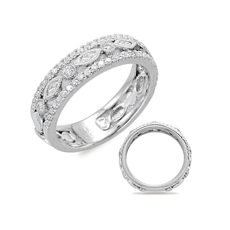 S. Kashi  & Sons Platinum Wedding Band