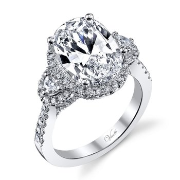 14K W  RING 138RD 0.72CT 2 HM 0.19CT