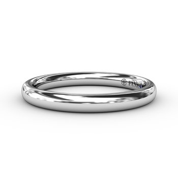 Classic High Polished Anniversary Band