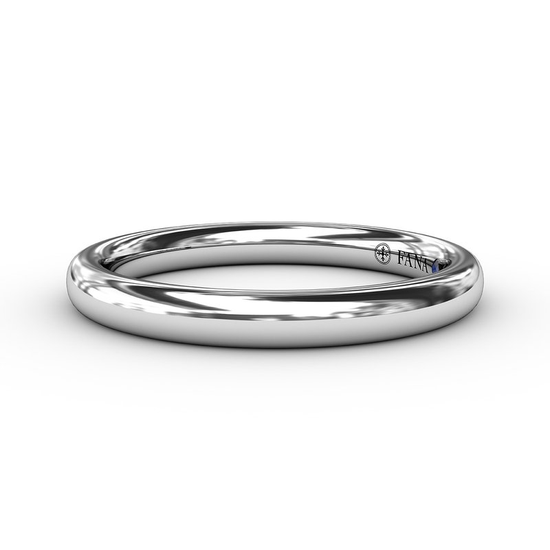 Fana Classic High Polished Anniversary Band
