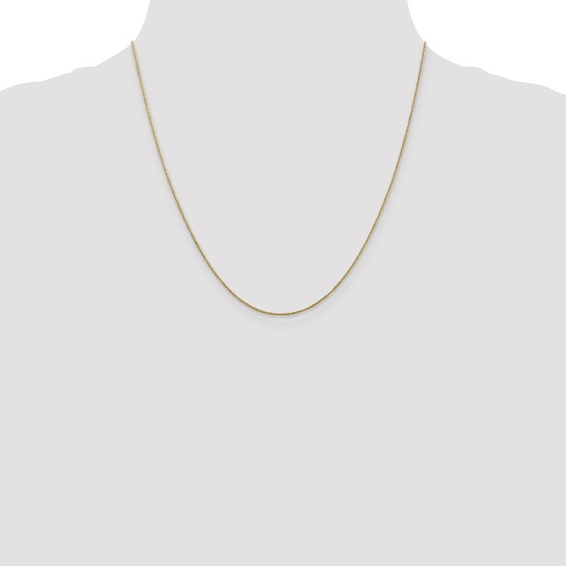 Quality Gold 14K .70mm Ropa Chain