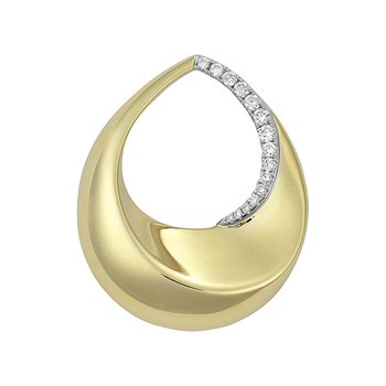Diamond Fashion Pendant - FDP4778YW