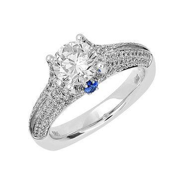 Bridal Ring-RE12665W10R
