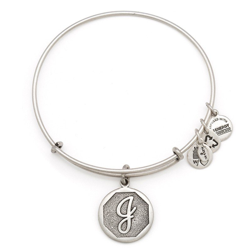 Alex and Ani INITIAL J EWB, RS