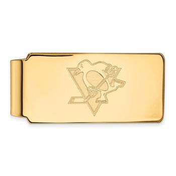 Gold Pittsburgh Penguins NHL Money Clip