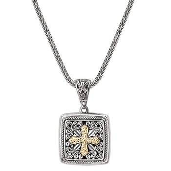 Ladies Fashion Cross Pendant