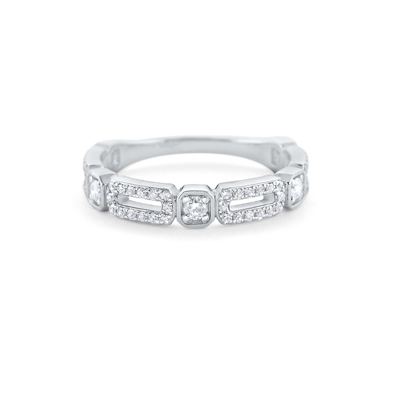 KC Designs Diamond Fashion Band Set in 14 Kt. Gold