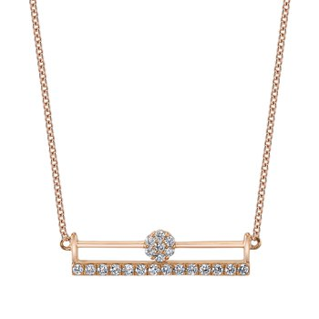 MARS 26851 Fashion Necklace, 0.20 Ctw.