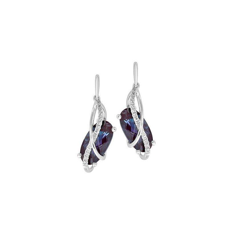 Chatham Alexandrite Earrings Ce4276wal