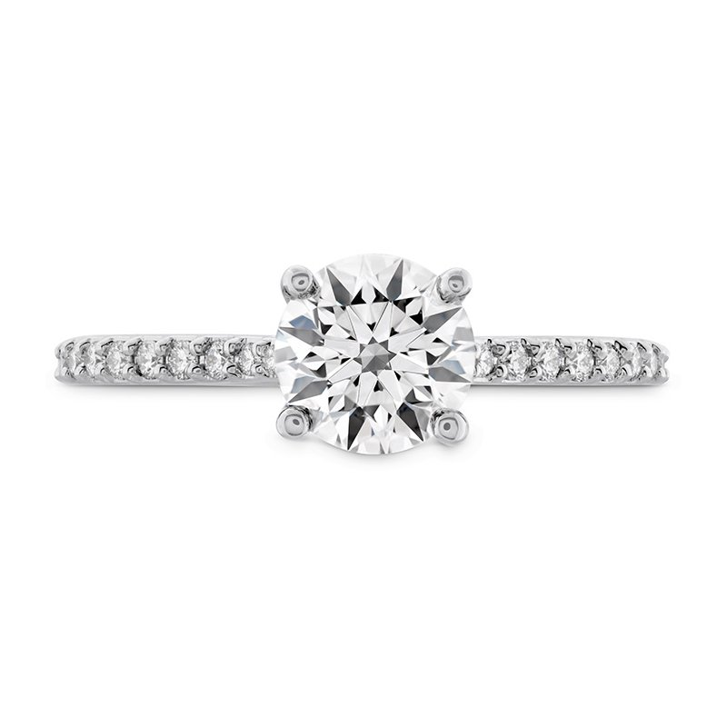 Hearts on Fire 0.18 ctw. Camilla HOF Engagement Ring - Dia Band