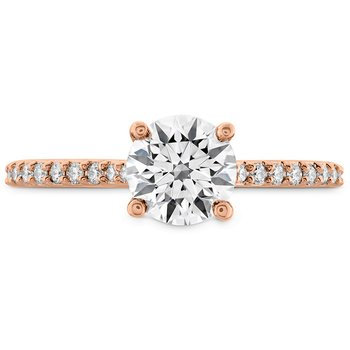 0.18 ctw. Camilla HOF Engagement Ring - Dia Band