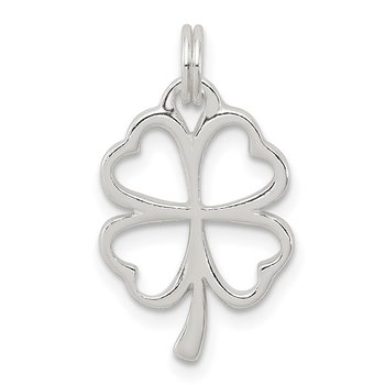 Sterling Silver Four Leaf Clover Charm