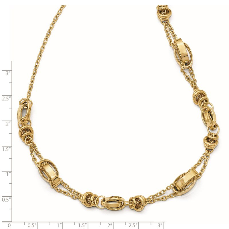 Leslie's Leslie's 14K w/1in ext. Necklace