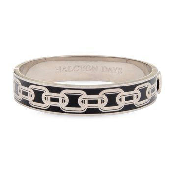 Chain Black & Palladium Bangle