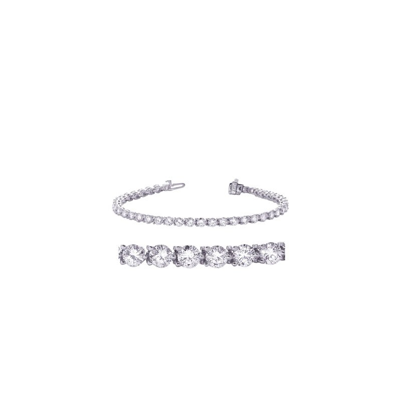 MAZZARESE Fashion Three Prong Tennis Bracelet
