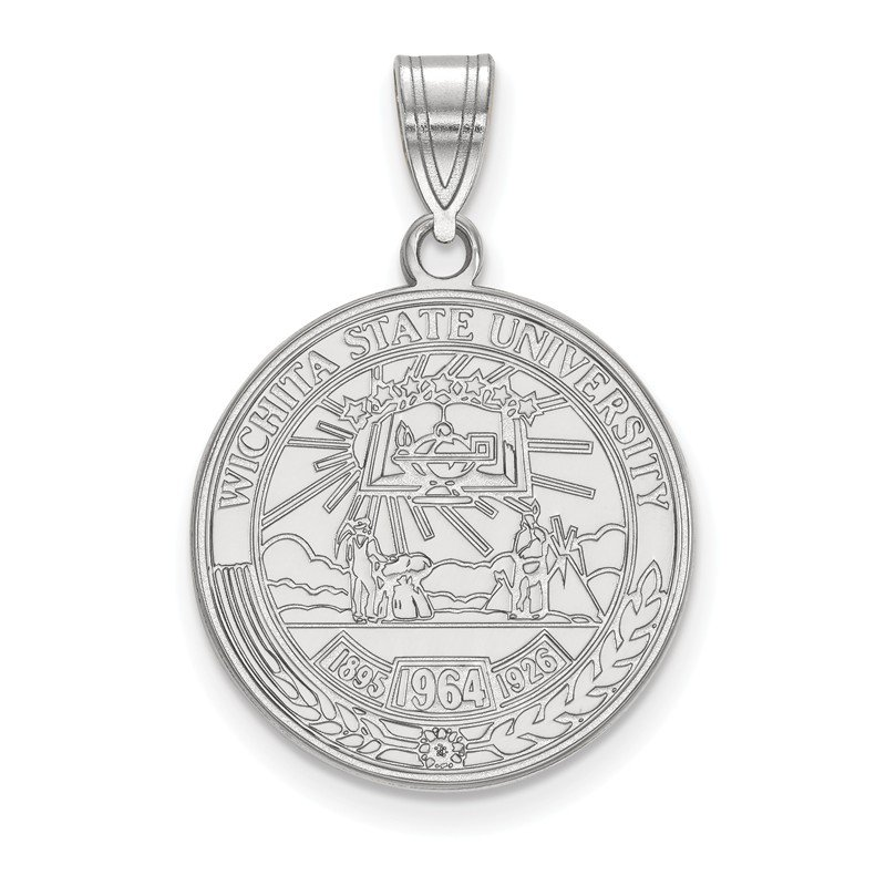 NCAA Sterling Silver Wichita State University NCAA Pendant