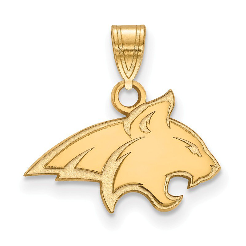 NCAA Gold-Plated Sterling Silver Montana State University NCAA Pendant