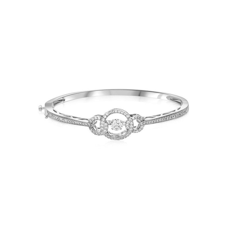 LARUS Jewelry Three-Link Bangle
