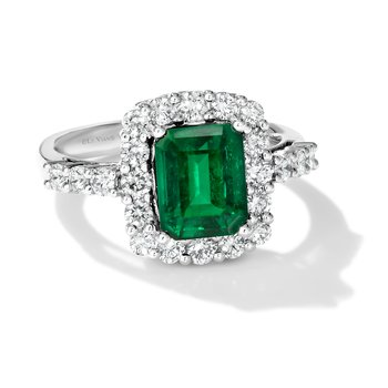 Costa Smerelda Emerald Ring