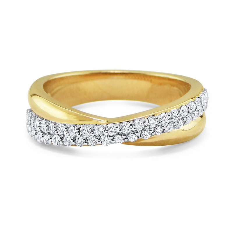 MAZZARESE Fashion 14K Diamond Fashion Ring