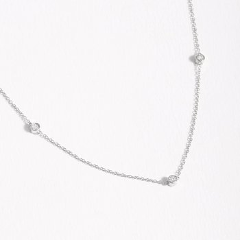 Dot To Dot Sterling Silver Necklace