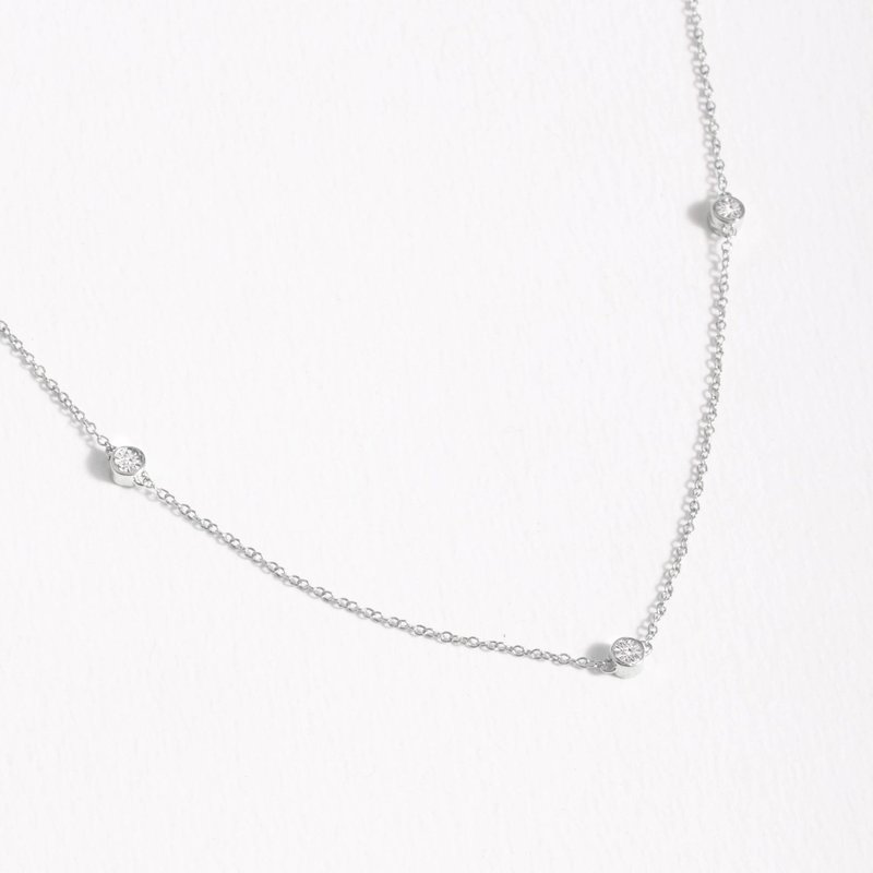 Ella Stein Dot To Dot Sterling Silver Necklace