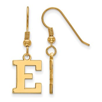 Gold-Plated Sterling Silver Eastern Michigan University NCAA Earrings