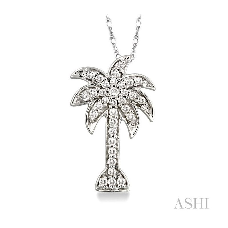 Barclay's Signature Collection PALM TREE DIAMOND PENDANT