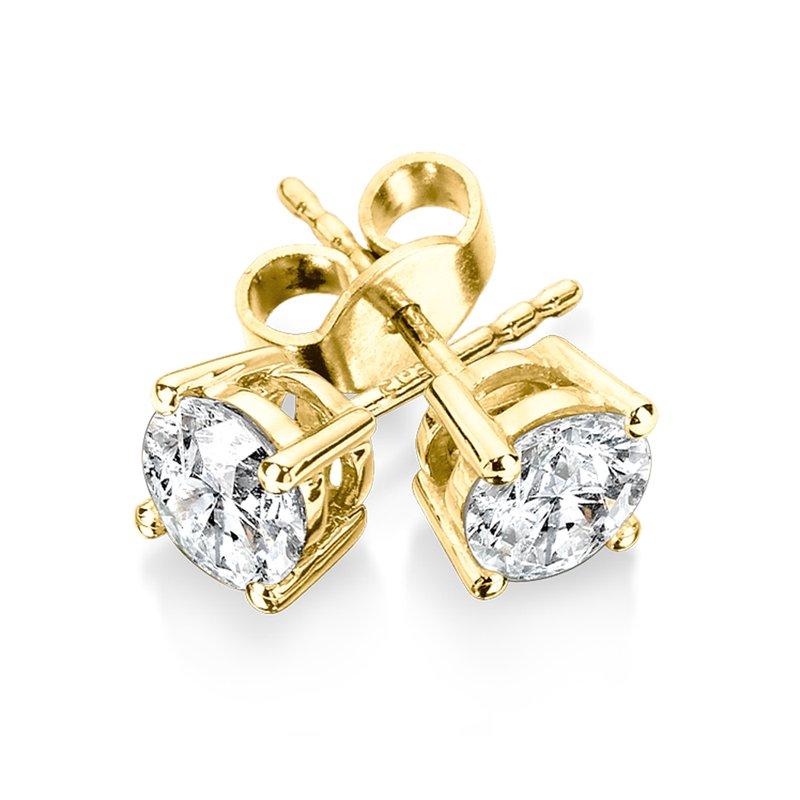 Iroff Son Jewelers Sdc Creations Four G Diamond Studs