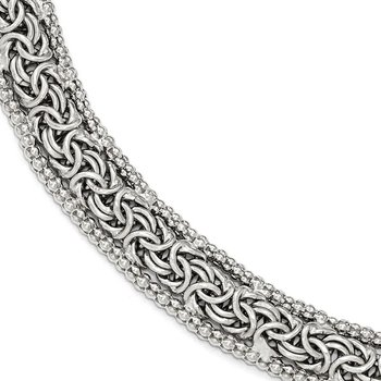 Leslie's Sterling Silver Polished Bracelet