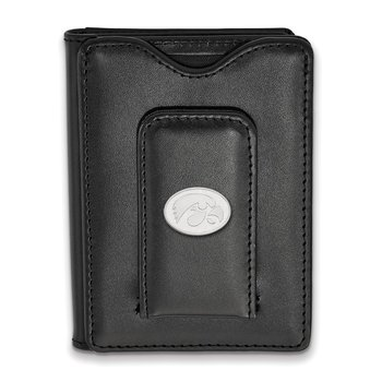 Sterling Silver University of Iowa NCAA Wallet