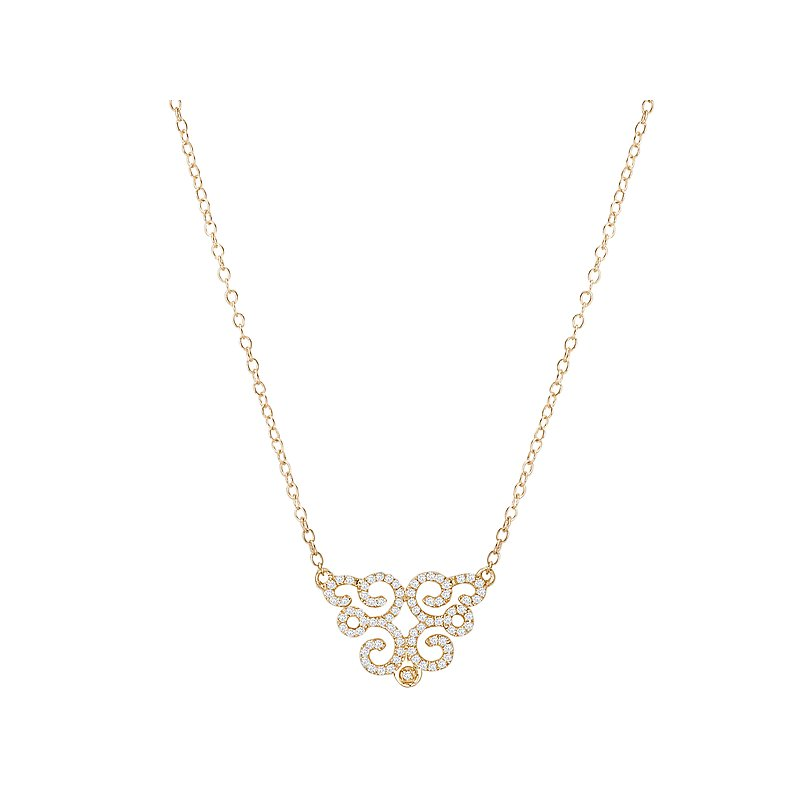 Tesoro Ladies Fashion Diamond Necklace