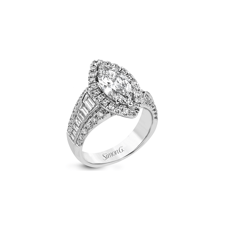 Simon G LR1164-MQ ENGAGEMENT RING