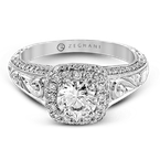 Zeghani ZR941 ENGAGEMENT RING