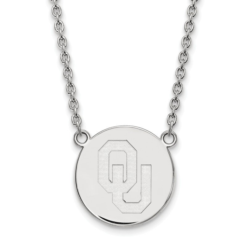 NCAA Sterling Silver University of Oklahoma NCAA Necklace