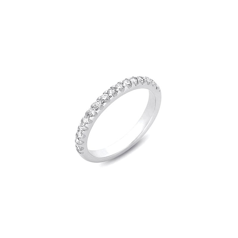 S. Kashi & Sons Bridal White Gold Engagement Band