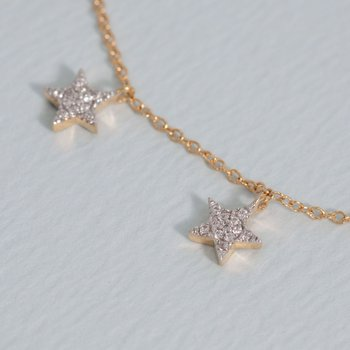 Pocketful of Stars Gold Necklace