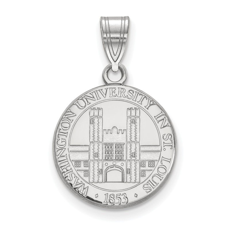 NCAA Sterling Silver Washington University in St. Louis NCAA Pendant