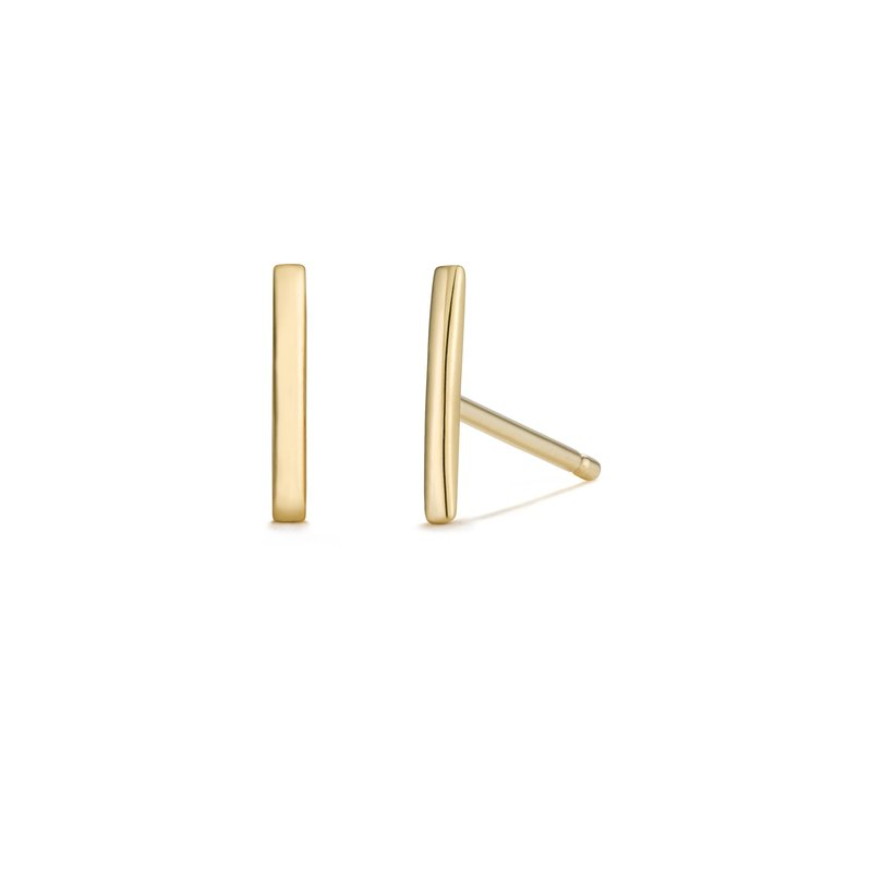 Aurelie Gi SAL | Bar Stud Earrings