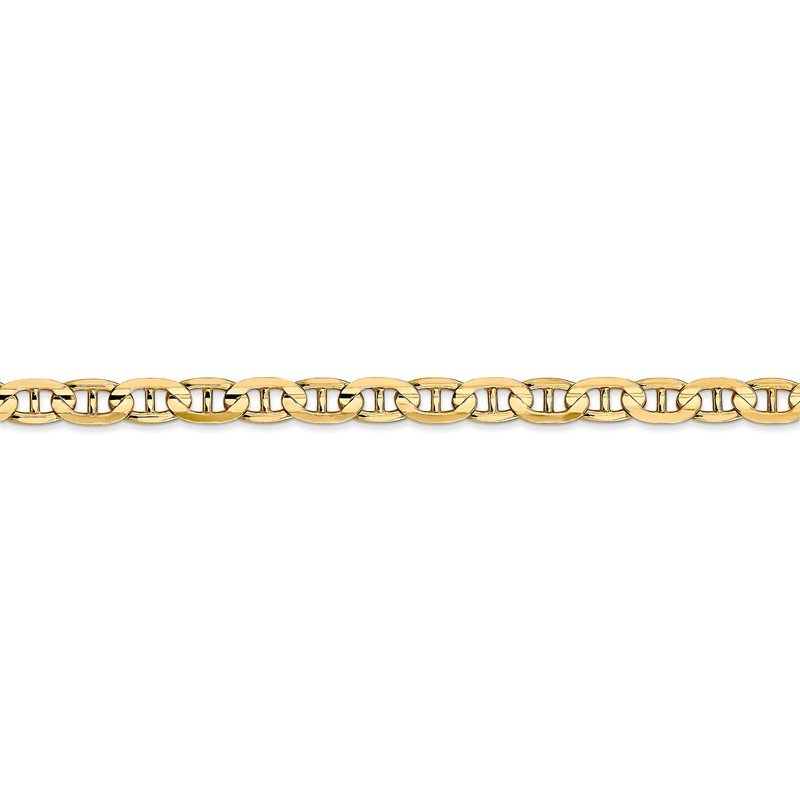 Fine Jewelry by JBD 14k 4.5mm Concave Anchor Chain