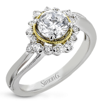 LR2744 ENGAGEMENT RING