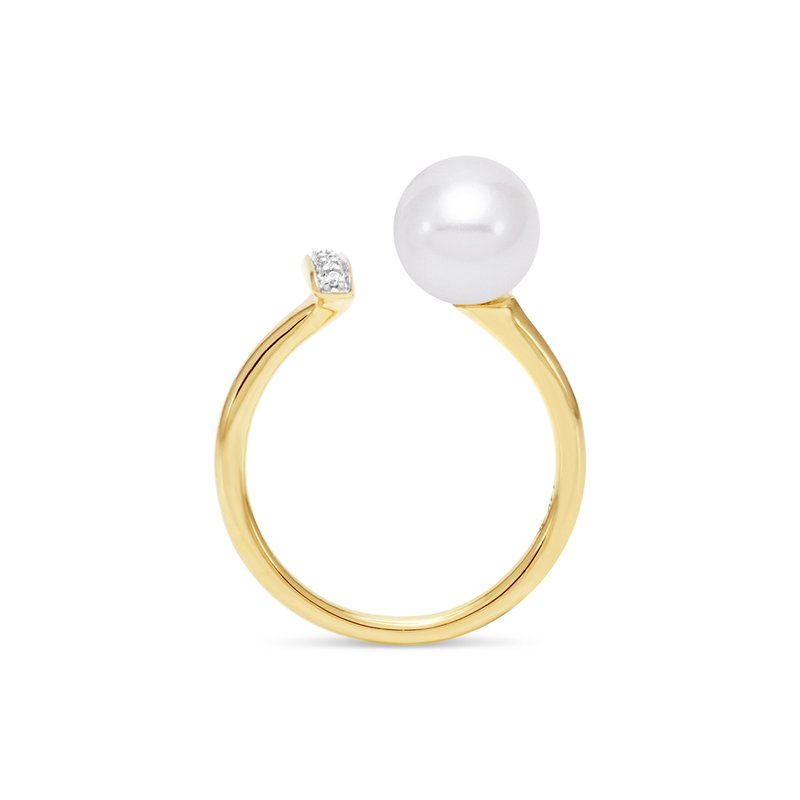 Mastoloni Pearls Linear Pearl Ring
